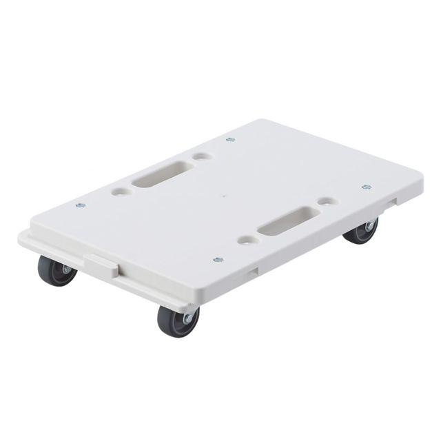 縦にも横にも連結できるポリプロピレン平台車 約幅27.5×奥行41×高さ7.5cm