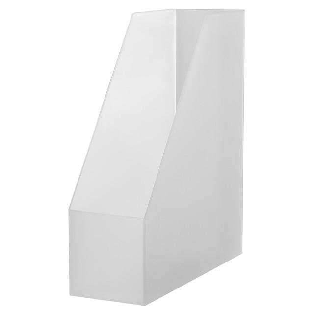 ポリプロピレンスタンドファイルボックス・A4用 約幅10×奥行27.6×高さ31.8cm