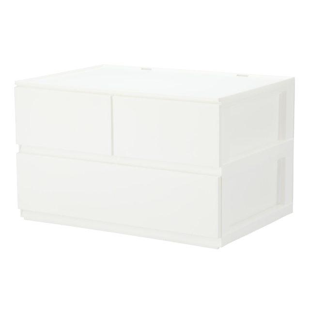 引出し Nインボックス レギュラー 2段/引出し3個(WH)