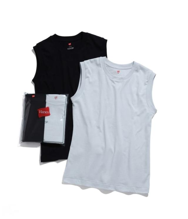 Hanes for BIOTOP sleeveless T-shirts
