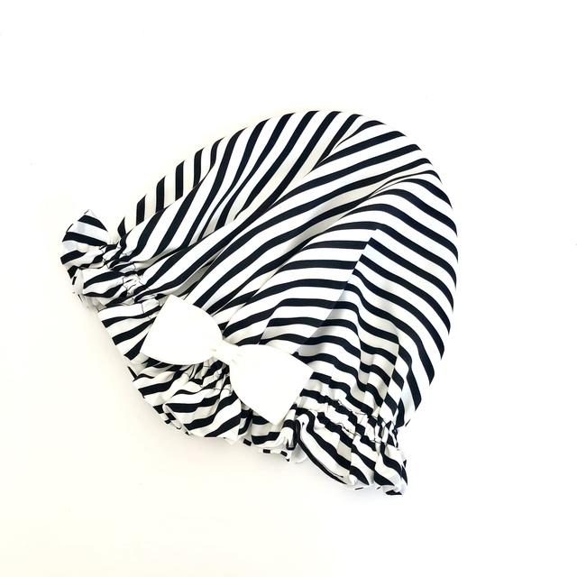 国産綾織シルクのナイトキャップ