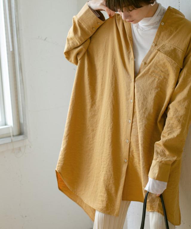 アシンメトリーサイズシャツ