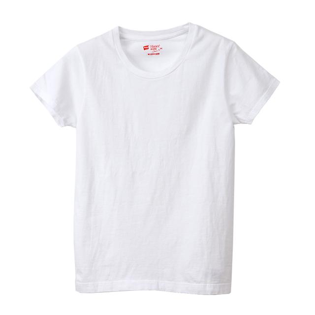 ウィメンズ ジャパンフィット クルーネックTシャツ【2枚組】クルーネックTシャツ 5.3oz 20SS Japan Fit for HER ヘインズ(HW5310)