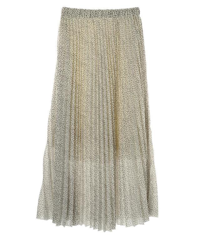 フレアプリーツスカート