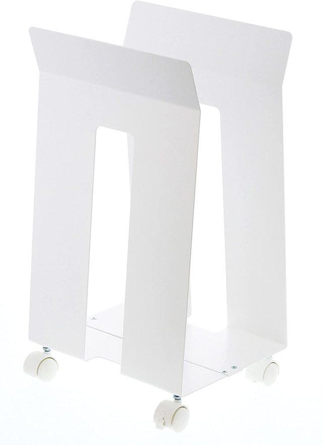 ダンボール収納 ダンボール&紙袋ストッカー フレーム ホワイト