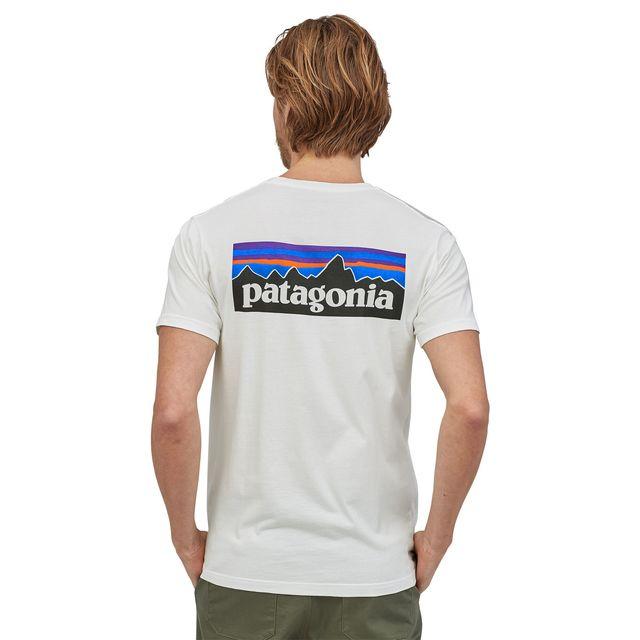 メンズ・P-6ロゴ・オーガニック・Tシャツ