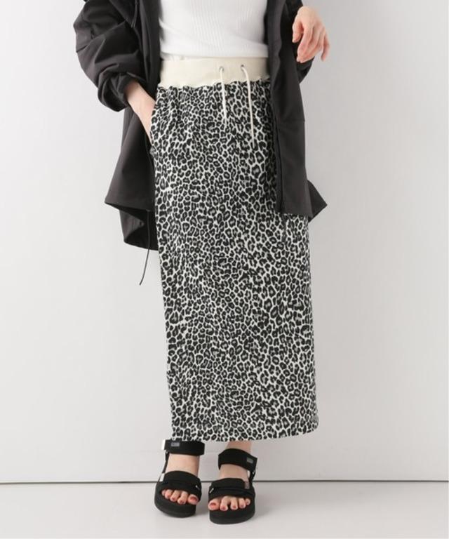 【Champion】レオパードスウェットスカート