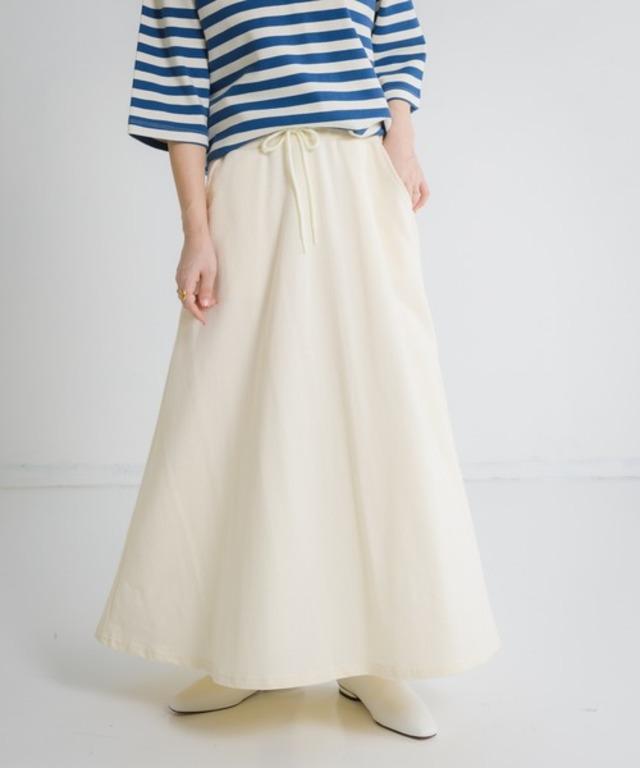 Libra スウェットフレアスカート