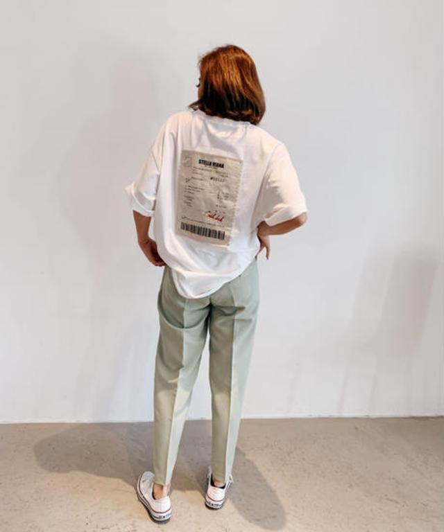 【UNISEX】receiptモチーフTシャツ