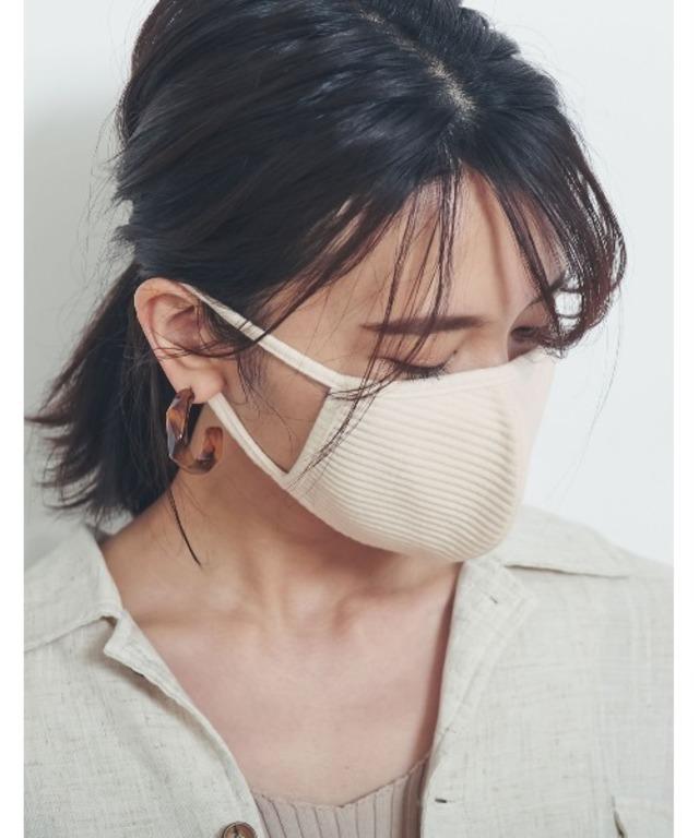 洗えるリブカットファッションマスク