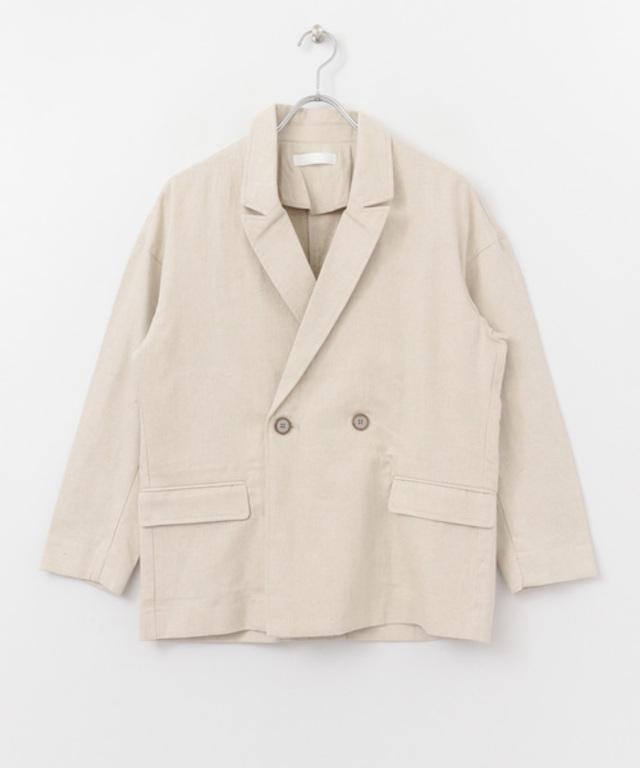 リネンルーズジャケット