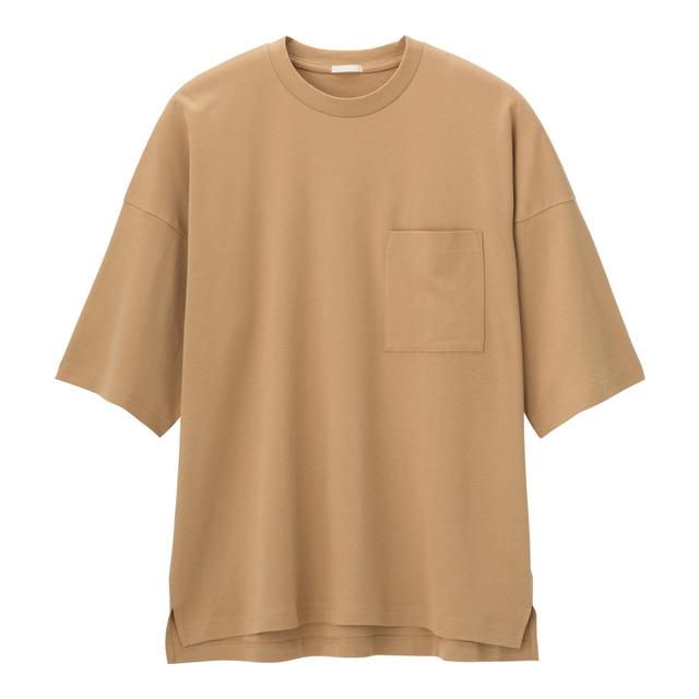 ルーズフィットT(5分袖)