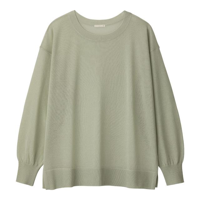 シアーオーバーサイズセーター