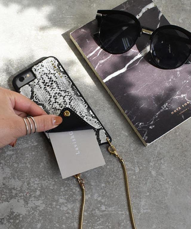 ショルダーチェーン・カード収納付きiPhoneケース mb-iphone-02503