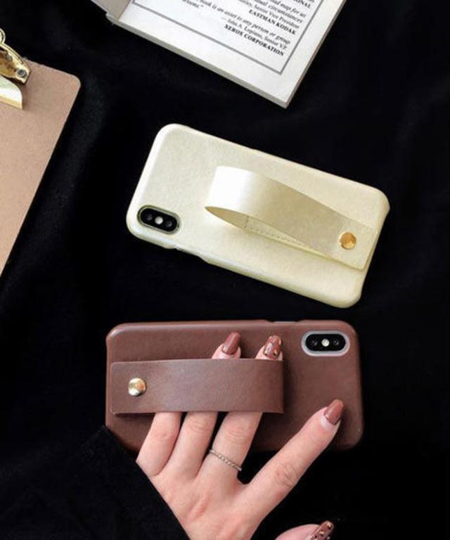 ハンドグリップ iPhoneケース