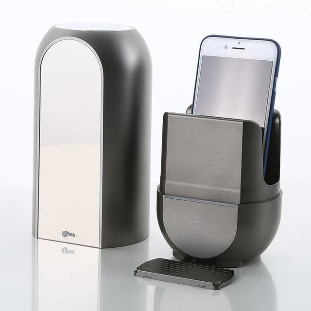 充電式で持ち運べるLINK UV+ オゾン スマホ除菌器
