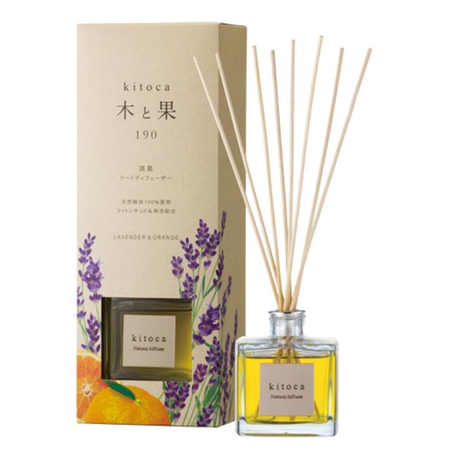 天然の植物アロマの優しい香り「木と果」90ml