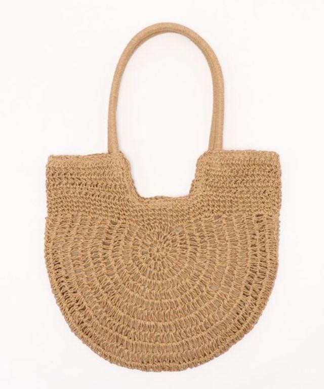 編み切り替えハンドルトート