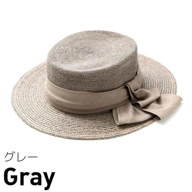 PREMIUM細編みブレードカンカン帽