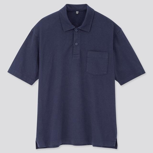 オーバーサイズジャージーポロシャツ(半袖)
