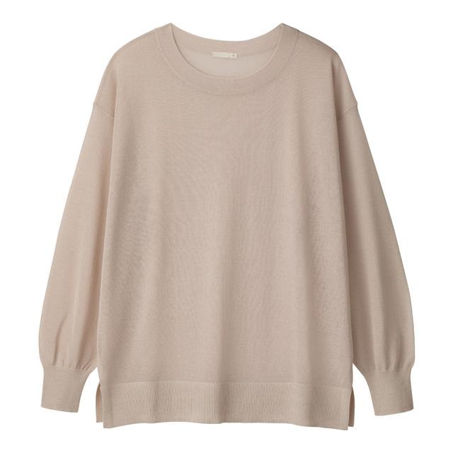 シアーオーバーサイズセーター(長袖)