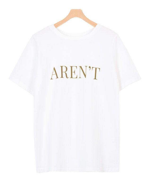 AREN'TロゴTシャツ