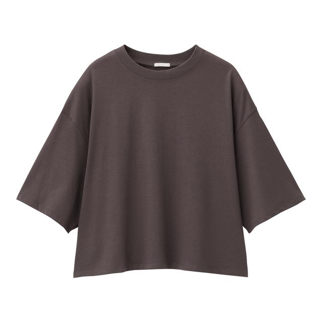クロップドT(5分袖)