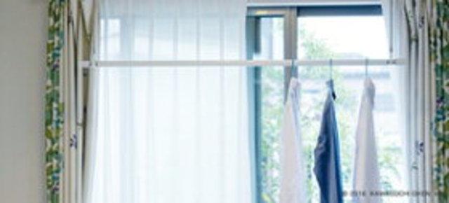 室内物干し [QSC-23] ホスクリーン 室内用物干竿セット QL-23-W1本 + SPC-W2本のセット