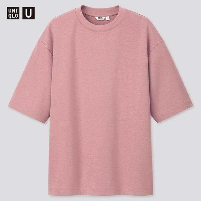 エアリズムコットンオーバーサイズTシャツ / メンズ