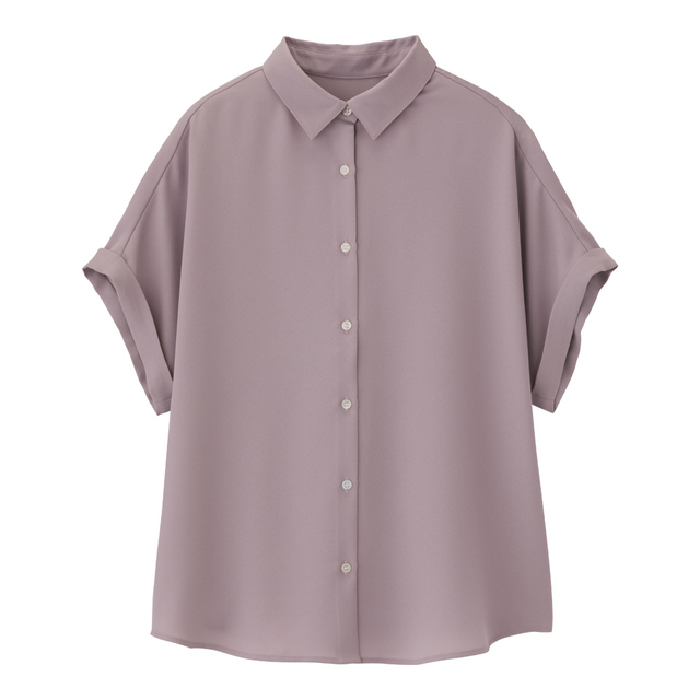 エアリーシャツ(半袖)(セットアップ可能)