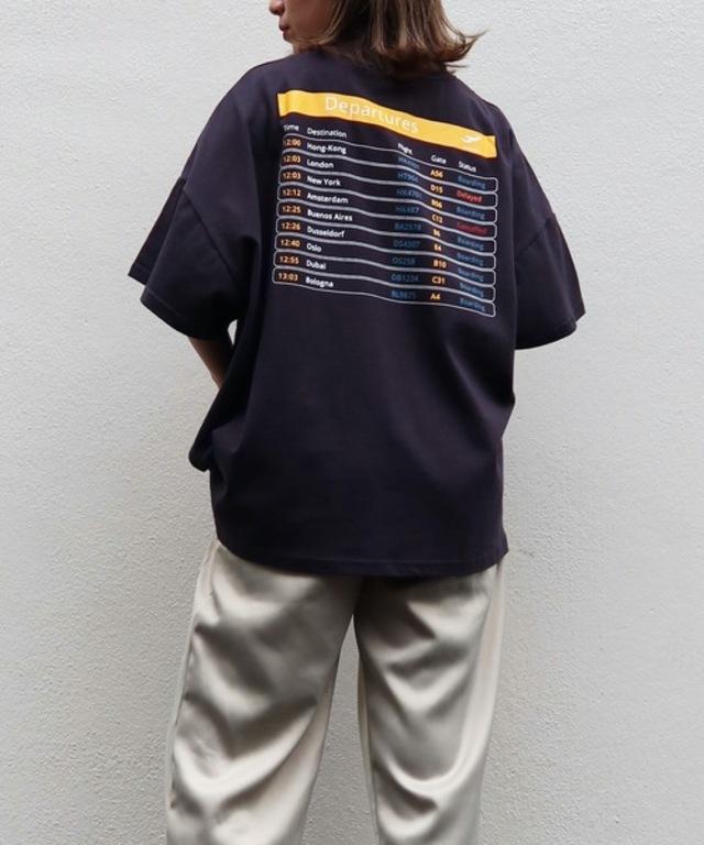 DeparturesバックプリントTシャツ