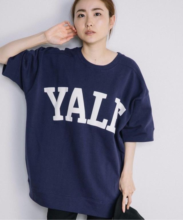YALEロゴ・ボックス型スウェット・半袖