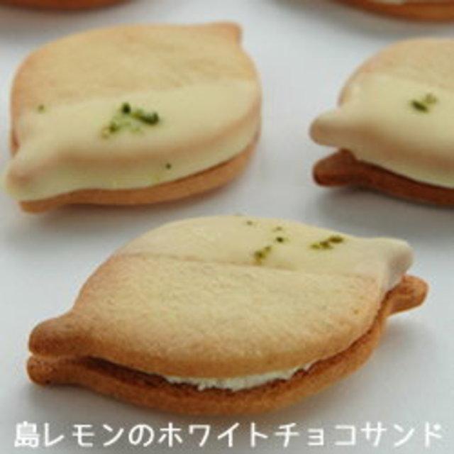 島レモンのホワイトチョコサンドクッキー(10個入)