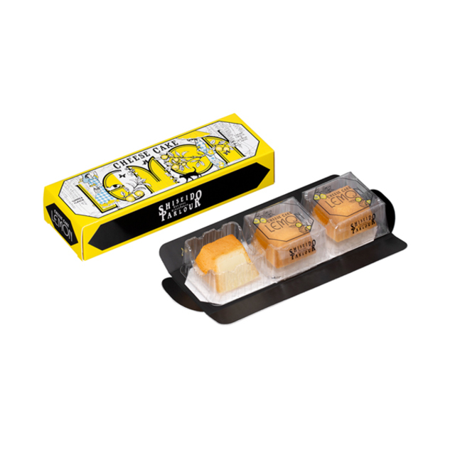 夏のチーズケーキ・レモン( 3個入)