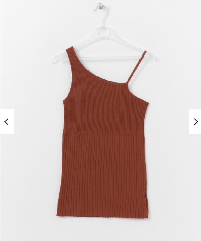 LAYERED KNIT CAMISOLE