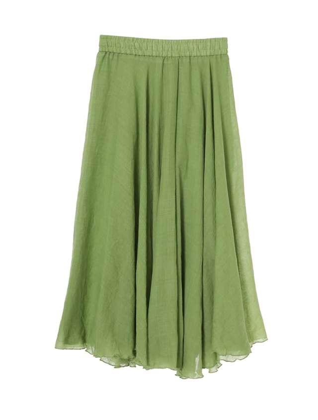 楊柳カラーフレアスカート