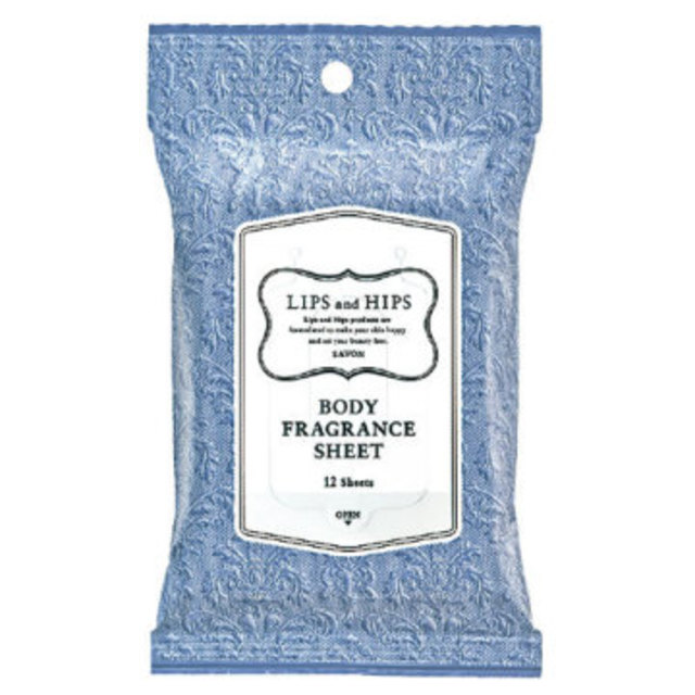 ボディフレグランスシートサボンの香り(12枚入)