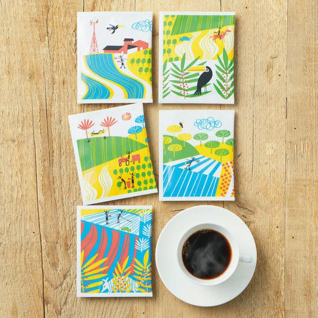 【ドリップコーヒー】関西アライドコーヒーロースターズ ダラゴア農園ブレンド 1箱(100袋入)