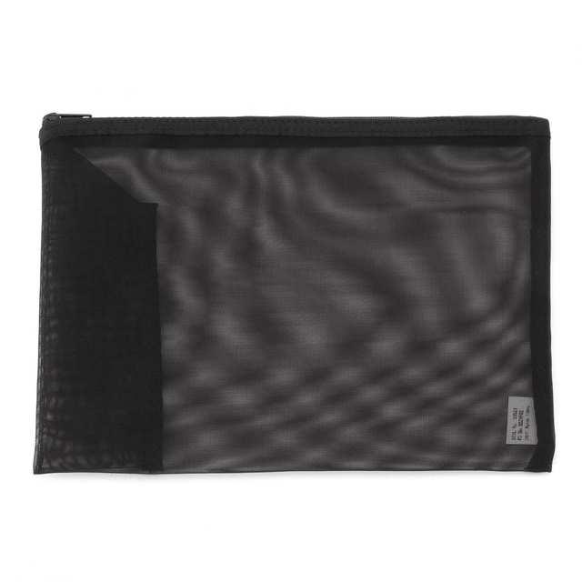ナイロンメッシュケース・ペンポケット付き A5サイズ