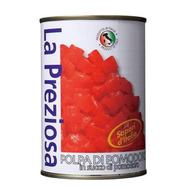 ダイストマト缶 400g