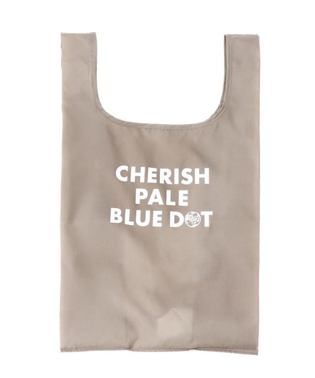 CHERISH PALE BLUE DOT/エコバッグM