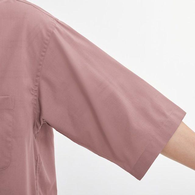 ルーズフィットシャツ(5分袖)