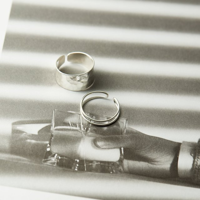 初めての本格リングに♡お手頃silver925・K18GPリング