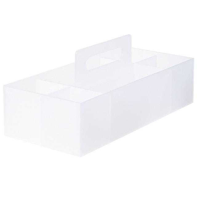 ポリプロピレン収納キャリーボックス・ワイド