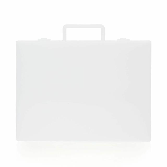 自立収納できるキャリーケース・A4用 約縦28(持ち手含)×横32×厚さ7cm