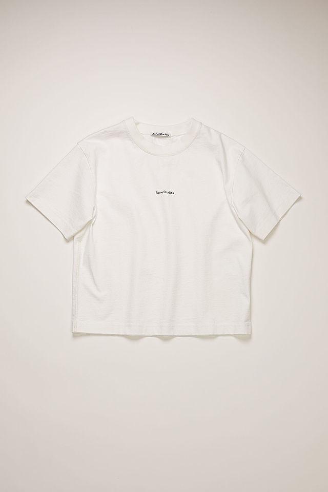 ロゴプリントTシャツ オプティックホワイト
