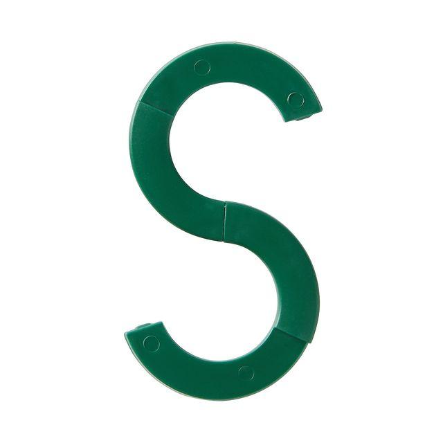 トラベルS字フック 緑・約50×90mm