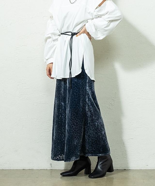 オパールベロアスカート