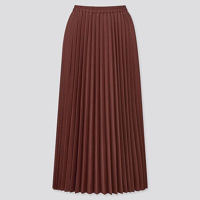アコーディオンプリーツロングスカート(丈標準78~82cm)