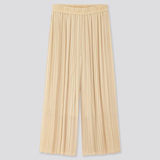 シフォンプリーツスカートパンツ(丈標準51.5~53.5cm)